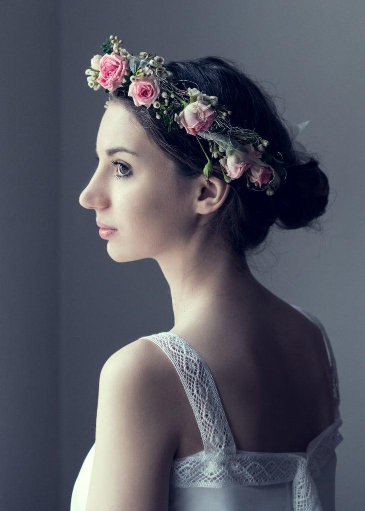 Porträt einer Braut mit Mystikflair