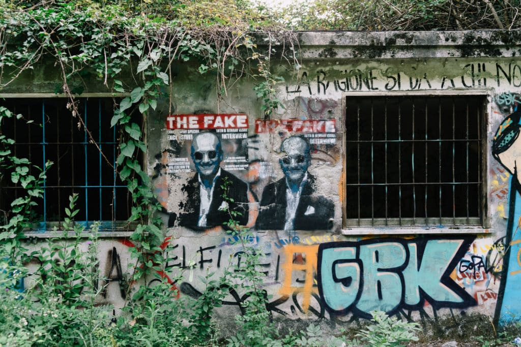 Abandoned Building VII, Personal Projects, Christina Harms Fotografie, The Fake-Graffiti