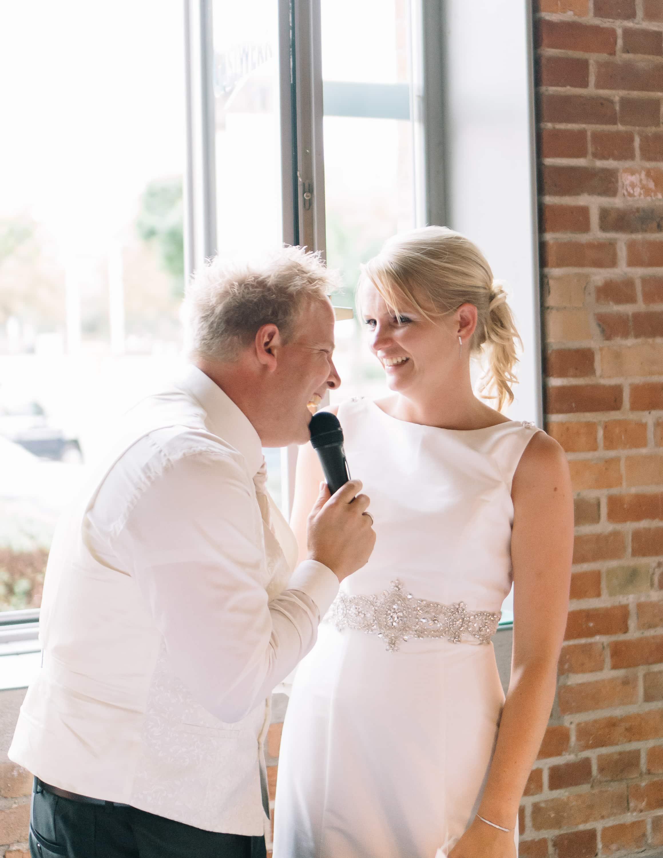 Momentaufnahme während der Hochzeitsreportage