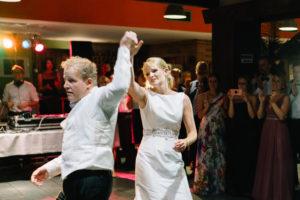 Impressionen der Hochzeitsfeier - Buffett, Rede, Hochzeitstanz.