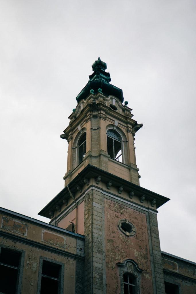 Schloss Dammsmühle - Der Turm