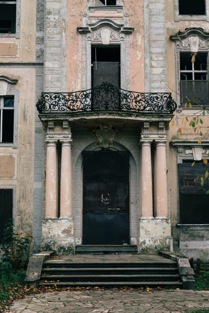 Schloss Dammsmühle - Eingangsportal