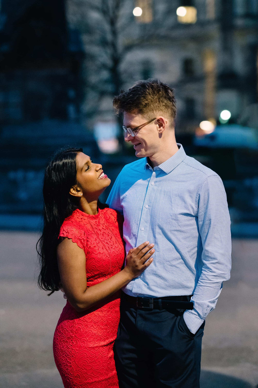 Coupleshoot mit Hannah & Christian auf der Museuminsel