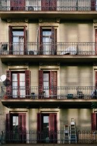 Magnificient Barcelona - Häuserfront in der Innenstadt