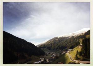 Wunderschönes Bergpanorama. Österreichische Berge. Immer wieder zum Verlieben schön.
