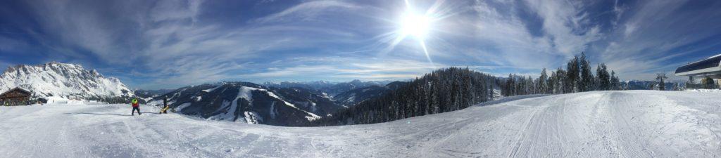 Bergpanorama Maria Alm Österreich