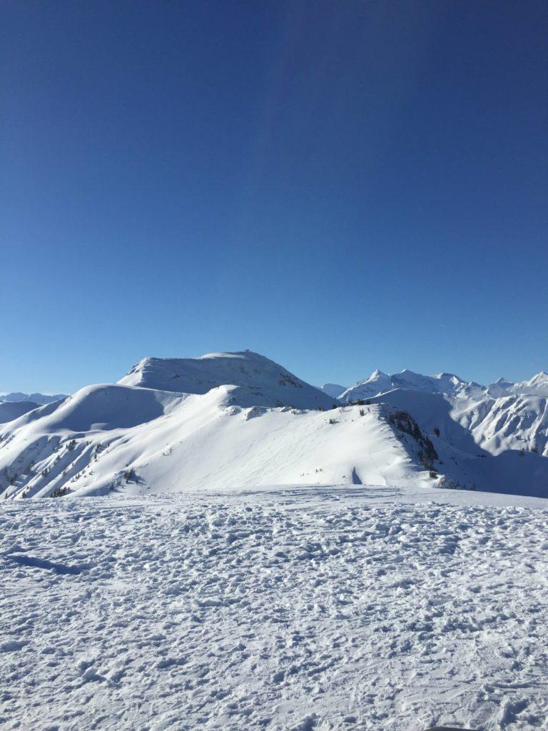 Skigebiet Maria Alm Bergblick