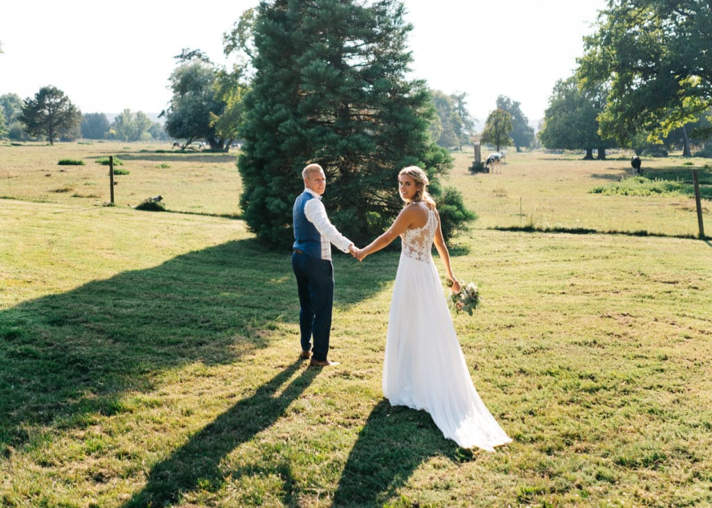 Hochzeitsfotografie auf dem Rittergut Dorstadt